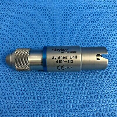 Stryker 4100-110 Synthes Drill Attachment Orthopedic