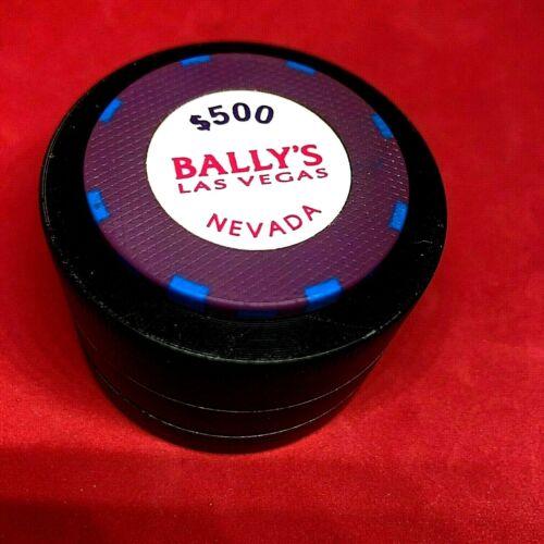 $500 BALLYS LAS VEGAS PURPLE 1st iss R10 RATED Q SU+1986 LOW BOOK $200-$250