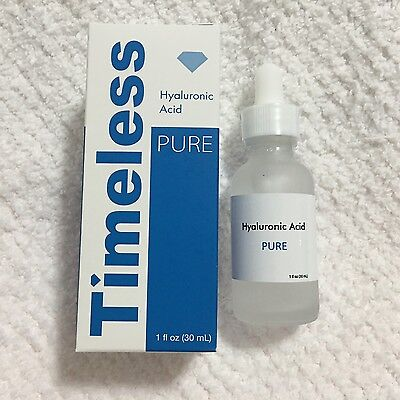 hyaluronic acid serum 100% pure 1 oz (30 ml) Timeless Skin Care free shipping