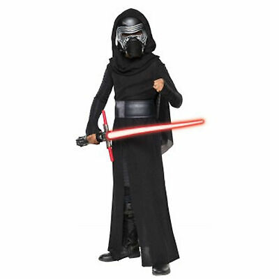 New - KYLO REN Star Wars Deluxe Child Costume for Boys size M 8-10 Rubies 620091