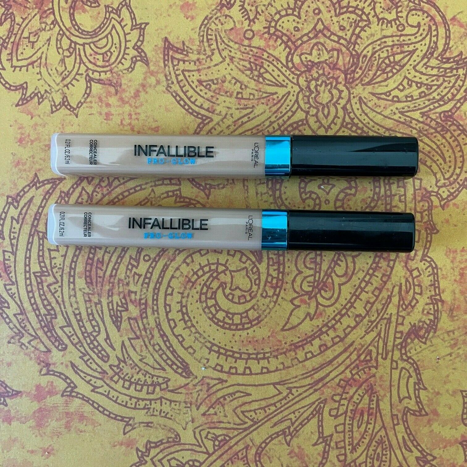 2X L Oreal Infallible Pro-Glow Concealer 04 Natural Beige - $10.45