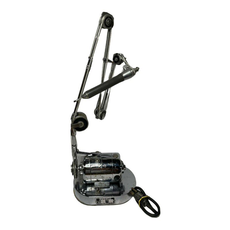 VTG Decor Emesco Dental Drill 92-NH Reversible Drill w/ Arm Hand Tool TESTED