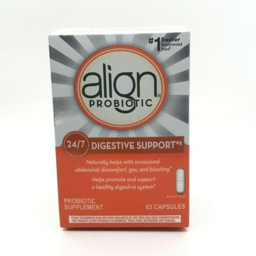 Align Probiotic, Daily Digestive Health Supplement, 63 Count