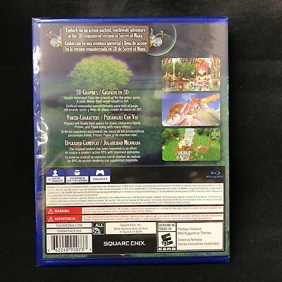 Secret of Mana (PlayStation 4) BRAND NEW / Region Free