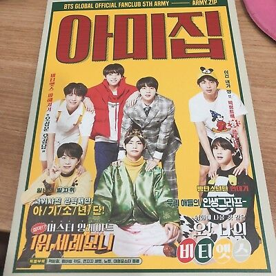 BTS BANGTANBOYS ARMY 5th Official Photobook Armyzip from MemberShip Kit