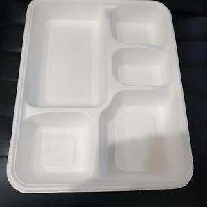5 deep compartment sugrcane plate Underwood Logan Area Preview