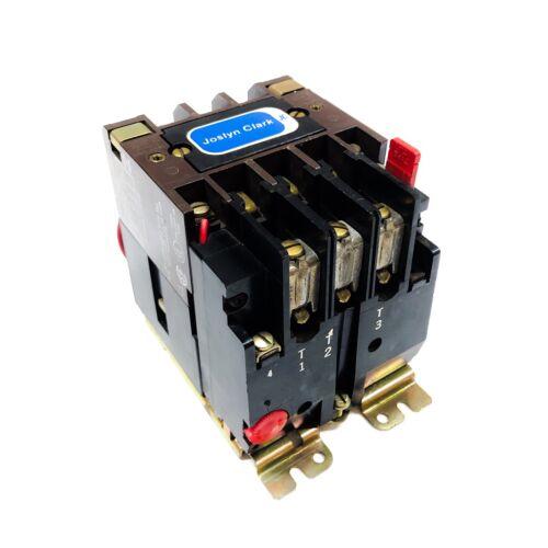 T13U030 Joslyn Clark Motor Starters, Nema: Size 0, 18 Amps, 600 VAC, 110V Coil