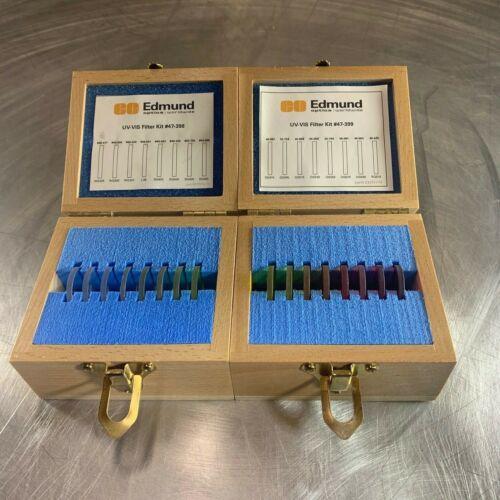 Edmund Industrial Optics UV-VIS Filter Kits #47-398 & #47-399