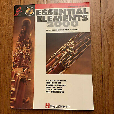 Essential Elements 2000: Bassoon Book 2 Comprehensive Band Method 2000 Bassoon Book
