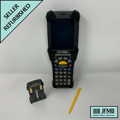 Symbol Motorola Mc9090 Wireless 2d Barcode Scanner Windows Mobile 6.1 Pda