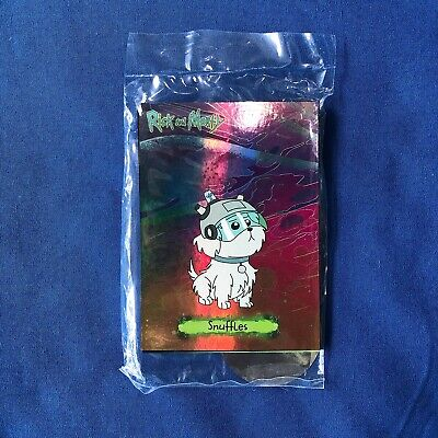 Cryptozoic Rick and Morty Season 1 SDCC Convention Exclusive Cards 2018 (SEALED)