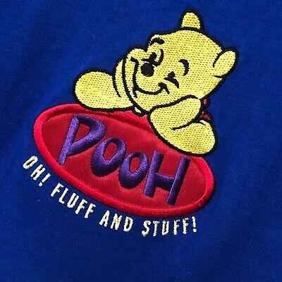 NWT Winnie Pooh Bear Shirt L 40 Chest Oh Fluff & Stuff Disney Store S/Sleeve