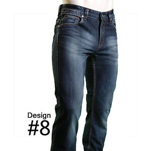 RNZ Premium Urban LA Boutique Designer Mens Fashion Denim Jeans - 8 Styles