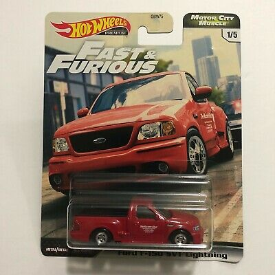 Hot Wheels Premium Car Culture Fast & Furious Ford F-150 SVT Lightning  - $15.99