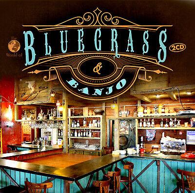 CD Bluegrass & Banjo von Various Artists 2CDs