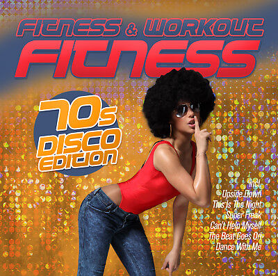 CD Fitness - 70s Disco Edition 45 Min.disco Hits In The Mix  - Disco In The 70s