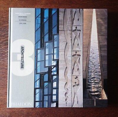 Twentieth Century Classics Modern Architecture Gropius Bauhaus Le Corbusier Kahn