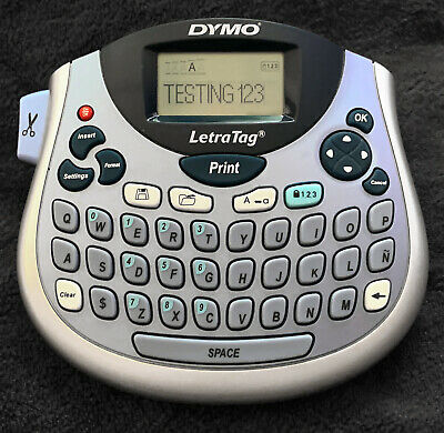 Dymo Letrataglt-100t Label Maker Thermal Printer