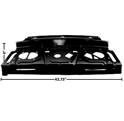 1967 68 69 Camaro Firebird Package Shelf Panel Kit with Reinforcements Coupe
