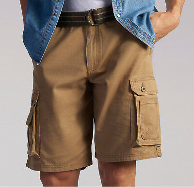 Mens Lee Dungaree Wyoming Cargo Shorts Pants Bourbon Big Tall 44, 46, 48,