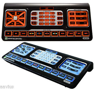 Monster Cable MCCAV55 Evolution 55 Home Theater Learning Universal Remote