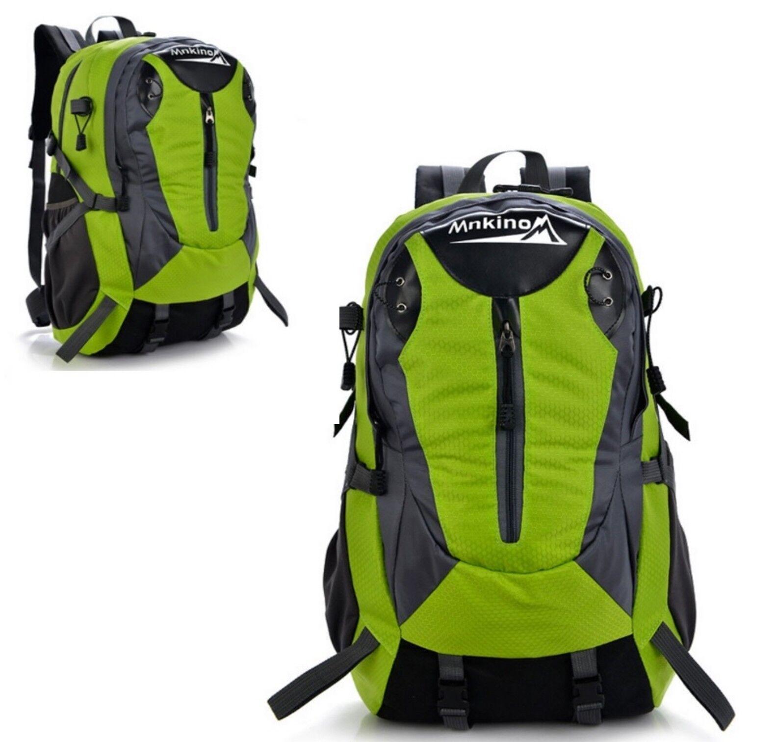 30L Rucksack Grün Freizeitrucksack Reiserucksack Camping Tasche Backpack Wandern