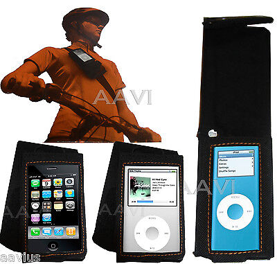 Courier Clip/Strap-on Case for iPhone 3G iPod Touch Classic 6th 7th Gen120 160GB ()
