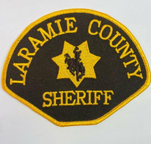 Laramie County Sheriff Wyoming WY Patch