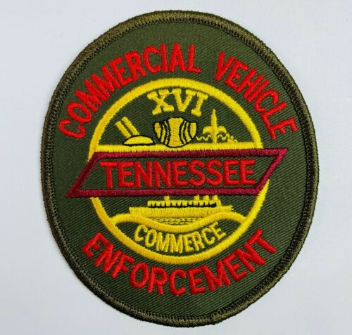 Commercial Vehicle Enforcement Tennessee State Trooper TN Patch (A2)