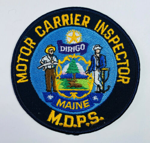 Maine Department Of Public Safety Motor Carrier Inspector MDPS Patch