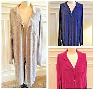 Sonoma Women's Sleep Shirt / Robe Plus Size 1X, 2X, 3X - NWT