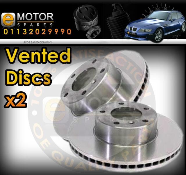 2X Citroen C2 [2003-2012] VENTED front  brake disc PAIR (266MM)  4246.W1