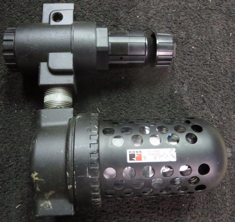 Ross 5211D6017 Pressure Regulator W/ 5021B6008 Filter Regulator