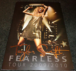 TAYLOR SWIFT Fearless Tour 2009/2010 Tour Book
