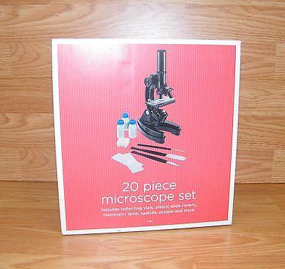 Ziel Store Marke 20 Piece Mikroskop Set - Ampullen,Spatel,Skalpell & Mehr !