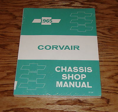 1965 Chevrolet Corvair Chassis Shop Service Manual 65 Chevy ()