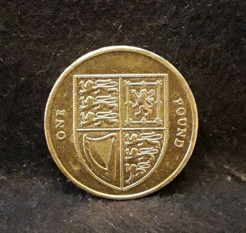 2014 Great Britain pound, Shield of the Royal Arms, withdrawn, KM-1113