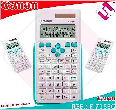 CALCULATOR TECHNICAL SCIENTIST CANON MODEL F715SG SCHOOL INS