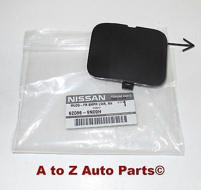 NEW 2009-2014 Nissan Maxima Front Bumper Tow Eye Hook Access Cover Cap, OEM