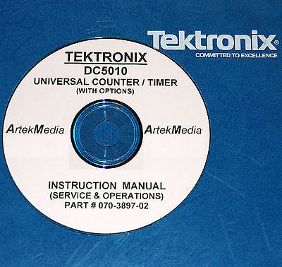 Tektronix Dc5010 Counter Operating Service Manual