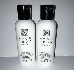 Avon True Color Moisturizing eye makeup remover lotion set of 2