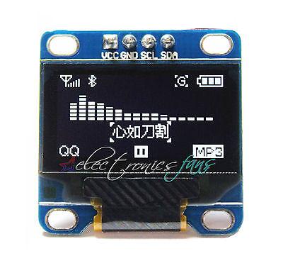 """0.96"""" White Weiß IIC I2C 128X64 OLED LCD Display Modul Arduino/STM32/AVR/51"""