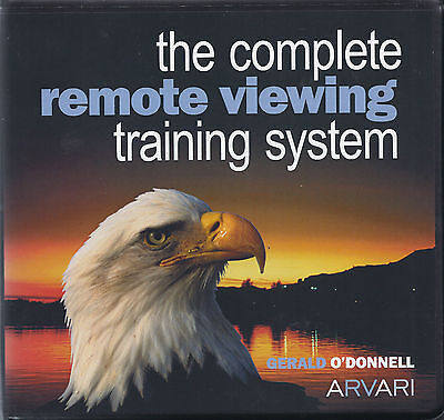 """GERALD O'DONNELL  """"ARVARI Remote Viewing""""       BRAND NEW 8 DISC SET"""