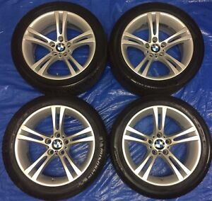 """BMW OEM 18"""" M5/M6 BBS Wheels & TPMS & Tires *Perfect Condition*"""