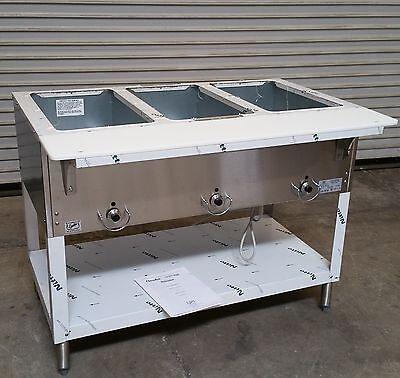 New 3 Well Electric Steam Table E303 Duke Aerohot 120v 2908 Dry Bath Element Nsf