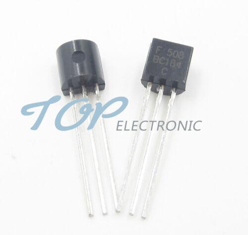 50PCS BC184 BC184C NPN TO-92 General Purpose Silicon Amplifier Transistor