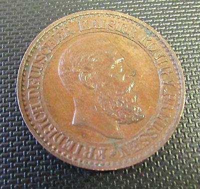 Undated Bronze Prussian / German Spiel Marke Token Coin