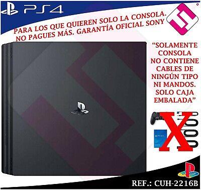 CONSOLA SONY PS4 PLAYSTATION 4 1TB SLIM NEGRA 100% NUEVA GARANTIA 2 AÑOS SONY