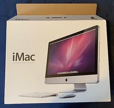 Apple iMac 27 inch 3.06GHz 4GB RAM 1TB HDD ATI Radeon HD orig. box keyboard cord