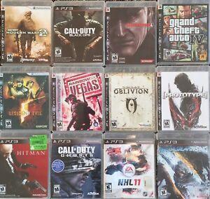 PS3 games $5